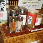 丸源ラーメン - 調味料類