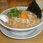 丸源ラーメン - 料理写真:熟成醤油肉そば 702円