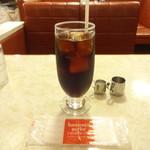 はまの屋パーラー - アイスコーヒー(セット):250円