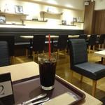 CAFE&BAKERY MIYABI - アイスコーヒー:300円