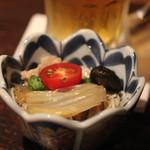 福の花 - お通し(七夕素麺)