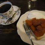 カフェ GOTO - ブレンド+タルトタタン