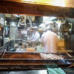 炭焼きうなぎの魚伊 - 腹開き焼き