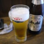 名物東京やきとん - 瓶ビール~☆