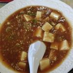 七福 - 麻婆豆腐アップです。
