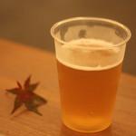 狐の足あと - 生ビール