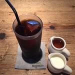 53818746 - ランチセットのアイスコーヒー