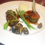 アンサンブル - お肉2種