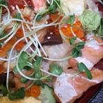 魚がし日本一 - サーモンが多め