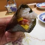 鮨たかし - 巻物「