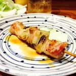 山正 - 焼き鳥(タレ)焼き加減が良くて旨い鶏肉!!