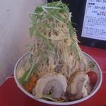 用心棒2階 - 冷やし中華 大 野菜マシマシ・ガリマヨ
