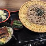そじ坊 - 「うなとろろご飯定食」1000円(税抜)