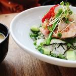 53827071 - 海鮮ネギトロ丼とお味噌汁