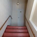 イ・ヴェンティチェッリ - お店への階段