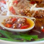華福楼 - ほどよい辛さのスープ
