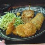 家庭料理京 - 串揚げ