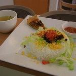 cafeSheep - 一度食べたらやみつきになるタコライス(^^)