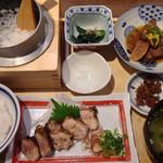 土佐わら焼 龍神丸 - 料理写真:よさこい定食