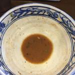 ラーメン いっとうや - 麻婆麺意外では初?ほぼ飲み干しました。