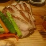 海風土 - 熟成豚のグリル