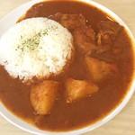 エイケイコーナー - 今日のランチカレーは、ミャンマーカレー〜(^_−)−☆