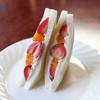 Asahiya - 料理写真:イチゴクリームサンド☆