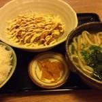手打ち出雲蕎麦 - 南蛮定食
