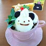 コーヒーベア - 可愛いけどアイスはかなりチープな味