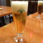 イタリアン居酒屋 にんたま屋台 - ハートランド生ビール(2016年7月来店)