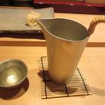 すし家 - 冷酒 くどき上手 純米大吟醸 2000円