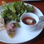 セミナーレ - 前菜。本当にどれもおいしいです。