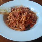 セミナーレ - パスタ。平日お昼だと大盛りもできました。