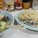 53841768 - 焼き飯定食