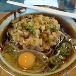 幸寿司 - 昼。天玉そば