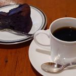 53842952 - コーヒー、ガトーショコラ