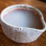 そばっ喰ひ - 蕎麦湯