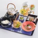 四季彩 ミズノ - 鯛茶漬け御膳2000円