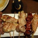 53844469 - 肉巻き串&串焼き