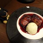 53844484 - 秋田県産桃豚バラの赤ワイン煮