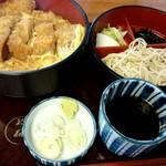 やぶそば - 『カツ丼セット』¥900-
