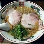 麺 喜だ屋 - 料理写真:【背脂ニンニクラーメン】¥810