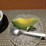 お宿 浜田館 - 夕食のデザート