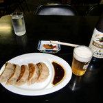 来々軒 白山浦支店 - 餃子 ビール