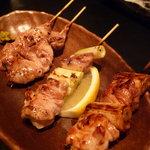 KIKAN-TARO - 料理写真:☆もも肉ねぎま串&フィレ串の2種盛り(≧▽≦)/~♡☆