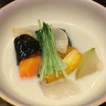 53850303 - お椀 松阪野菜の豆乳煮