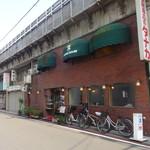 久 - 浅草橋駅東口を出て、江戸通りを渡ったガード下