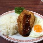 鶏泉 - 鶏泉ランチ¥400円税込