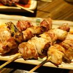 鶏人 - ねぎま串