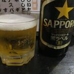 野豚 - 瓶ビール(中瓶)